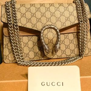 Authentic Gucci Dionysus Small Purse